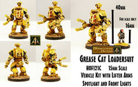 HOF121C Grease Cat Loader Suit (One Kit)