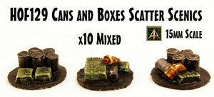 HOF129 Cans and Boxes Scatter Scenics - Value Pack