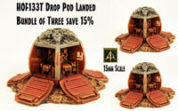HOF133T Drop Pod Landed - Bundle of three save 15%