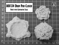 HOF134T Drop Pod Closed -  Bundle of three save 15%