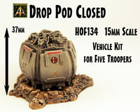 HOF134 Drop Pod Closed