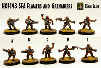 HOF143 SFA Flamers and Grenadiers