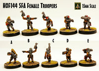 HOF144 SFA Female Troopers