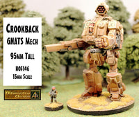 HOF146 Crookback GNATS Mech (95mm tall)