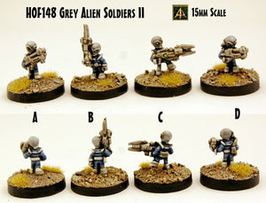 HOF148 Grey Alien Soldiers II