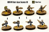 HOF149 Grey Alien Soldiers III