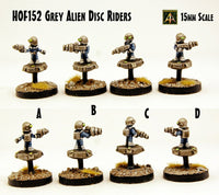HOF152 Grey Alien Disc Riders