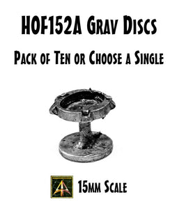 HOF152A Grav Discs (Pack of Ten or Choose Single)