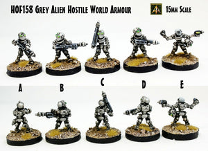 HOF158 Grey Alien Hostile World Armour