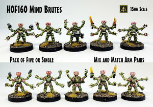 HOF160 Mind Brutes (Pack of Five or a Single)