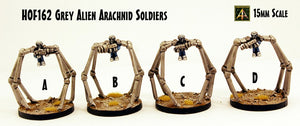 HOF162 Grey Alien Arachnid Soldiers (4 Kits)