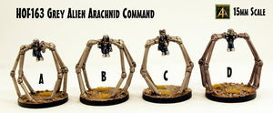HOF163 Grey Alien Arachnid Command (4 Kits)