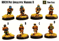HOF20 Post Apocalyptic Warriors II