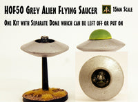 HOF50 Grey Alien Flying Saucer