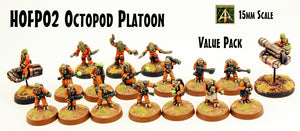 HOFP02 Octopod Platoon - Value Pack