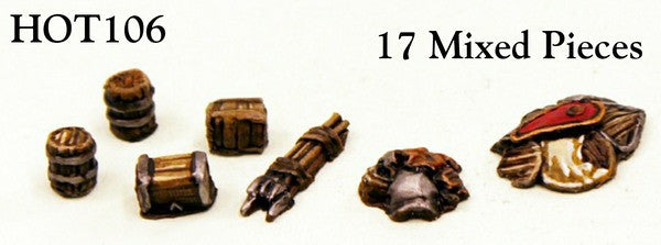 HOT106 Stockpiles 15mm Fantasy Scenics