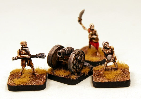 HOT113 Skeleton Artillery (Cannon and Crew)
