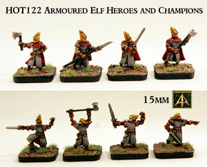 HOT122  Armoured Elf Heroes and Champions