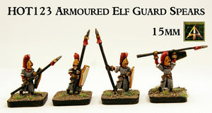 HOT123 Armoured Elf Guard Spear Infantry