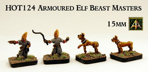 HOT124  Armoured Elf Beast Masters