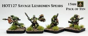 HOT127 Savage Lizardmen Spears