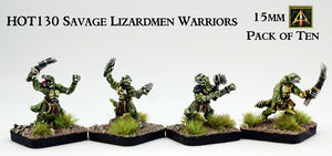 HOT130 Savage Lizardmen Warriors