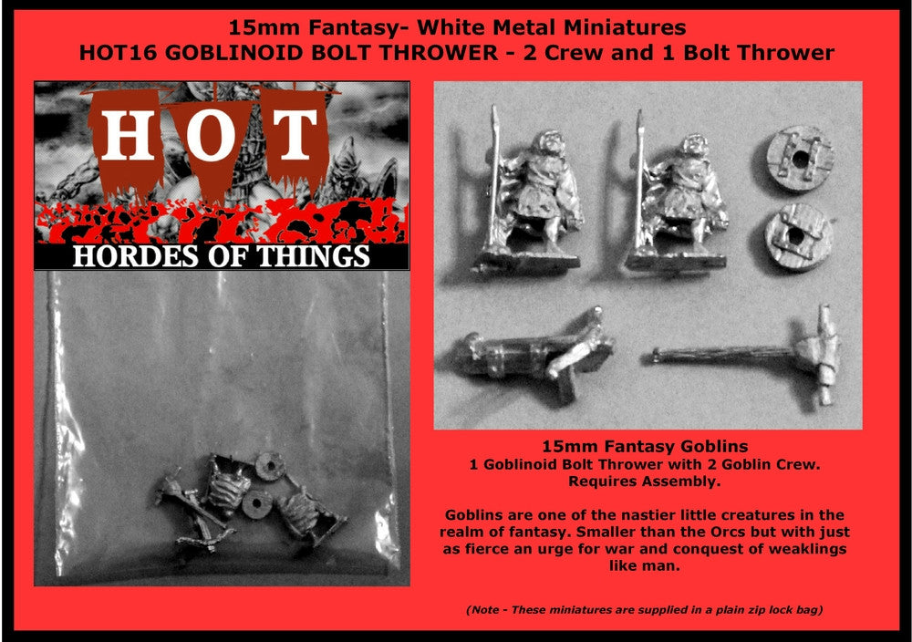 HOT16 Bolt Thrower with Goblin Crew