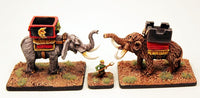 HOT31 War Mammoth with Howdah