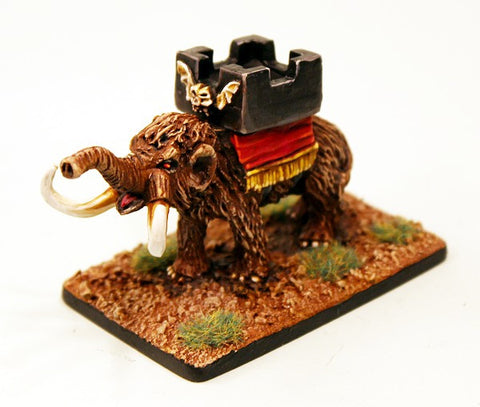 HOT30 War Elephant with Howdah