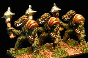 HOT44 Greater Lizardmen with Mace
