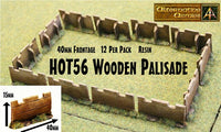 HOT56 Wooden Palisades now in resin 40mm Frontage - 480mm Frontage per pack