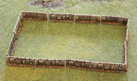 HOT59 Stone Wall now in resin 40mm frontage - 480mm frontage per pack