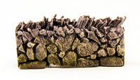 HOT60 Bastion Walls now in resin 40mm frontage - 480mm frontage per pack