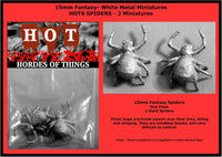 HOT6 Giant Spiders