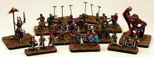 HOTT1008 Zombie Horde-Pro-Painted-Ready to Ship