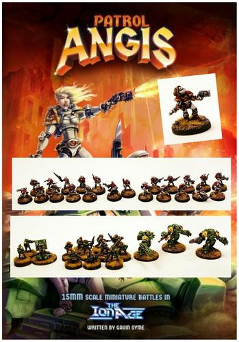 Patrol Angis - 15mm Skirmish Wargame (Game Pack)