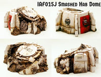 IAF015J Smashed Hab Dome