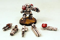 IAF030 Duxis Battlesuit - Five ranged weapon options included