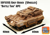 IAF035G Grey Adder APC Battle Taxi Wheeled