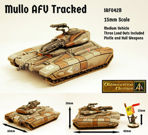 IAF042B Mullo AFV Tracked with three turret load outs