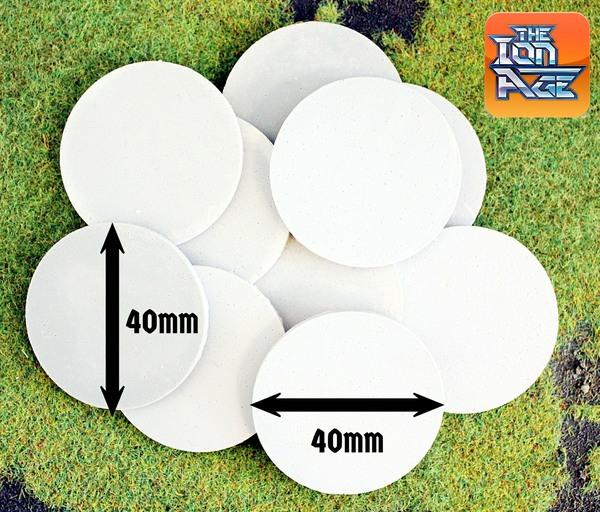 59026 40mm Round Bases (10)