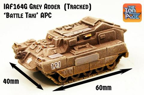 IAF164G Grey Adder APC Battle Taxi Tracked