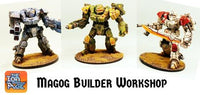 IAFMB02 Magog Builder Workshop - Assemble your own Mecha