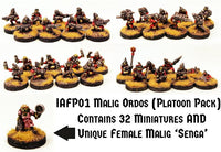 IAFP01 Malig Ordos (Platoon Pack) - Includes free extra unique miniature!