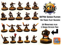 IAFP06 Xin Trade Fleet Platoon - Includes free extra unique miniature!