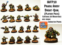 IAFP10 Prang Army Platoon - Includes free extra unique miniature!