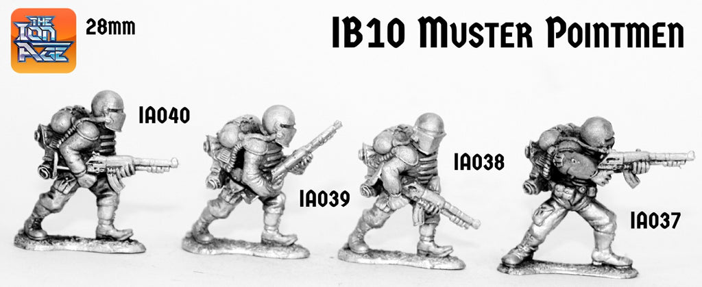 IB10 Muster Pointmen