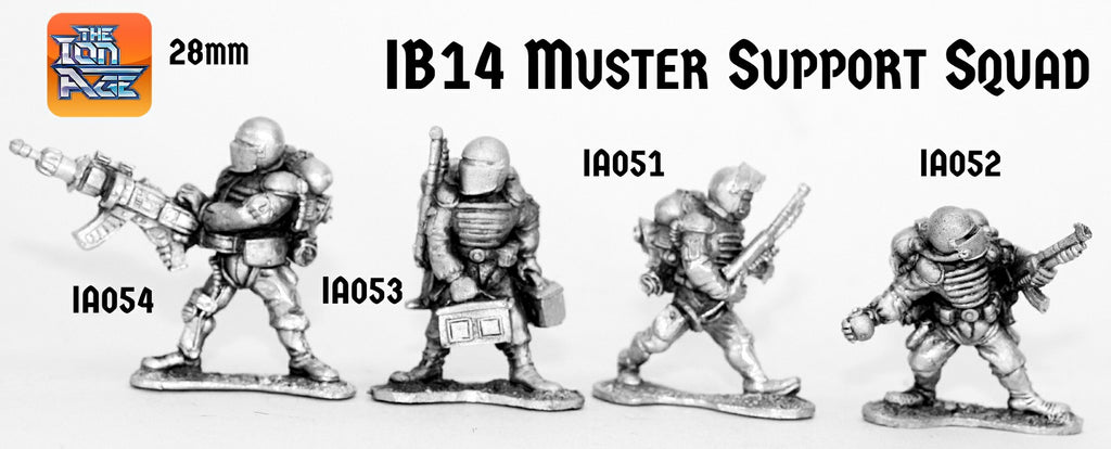 IB14 Muster Support Squad