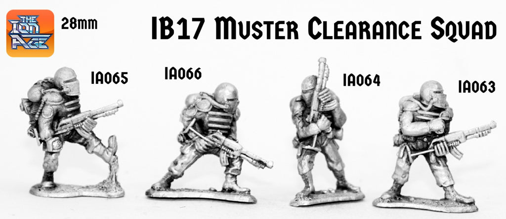 IB17 Muster Clearance Squad