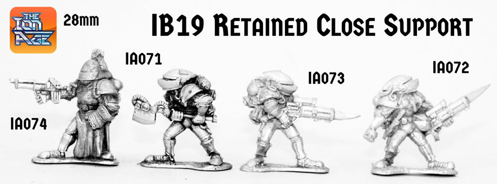 IB19 Retained Close Assault